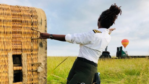 Kenya's First Female Hot Air Balloon Pilot on Wildlife Encounters and Guiding Celebs