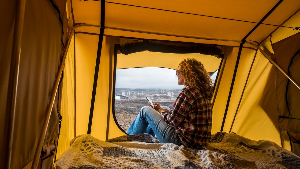 The Best Hair Products to Pack for Your Overnight Camping Trip