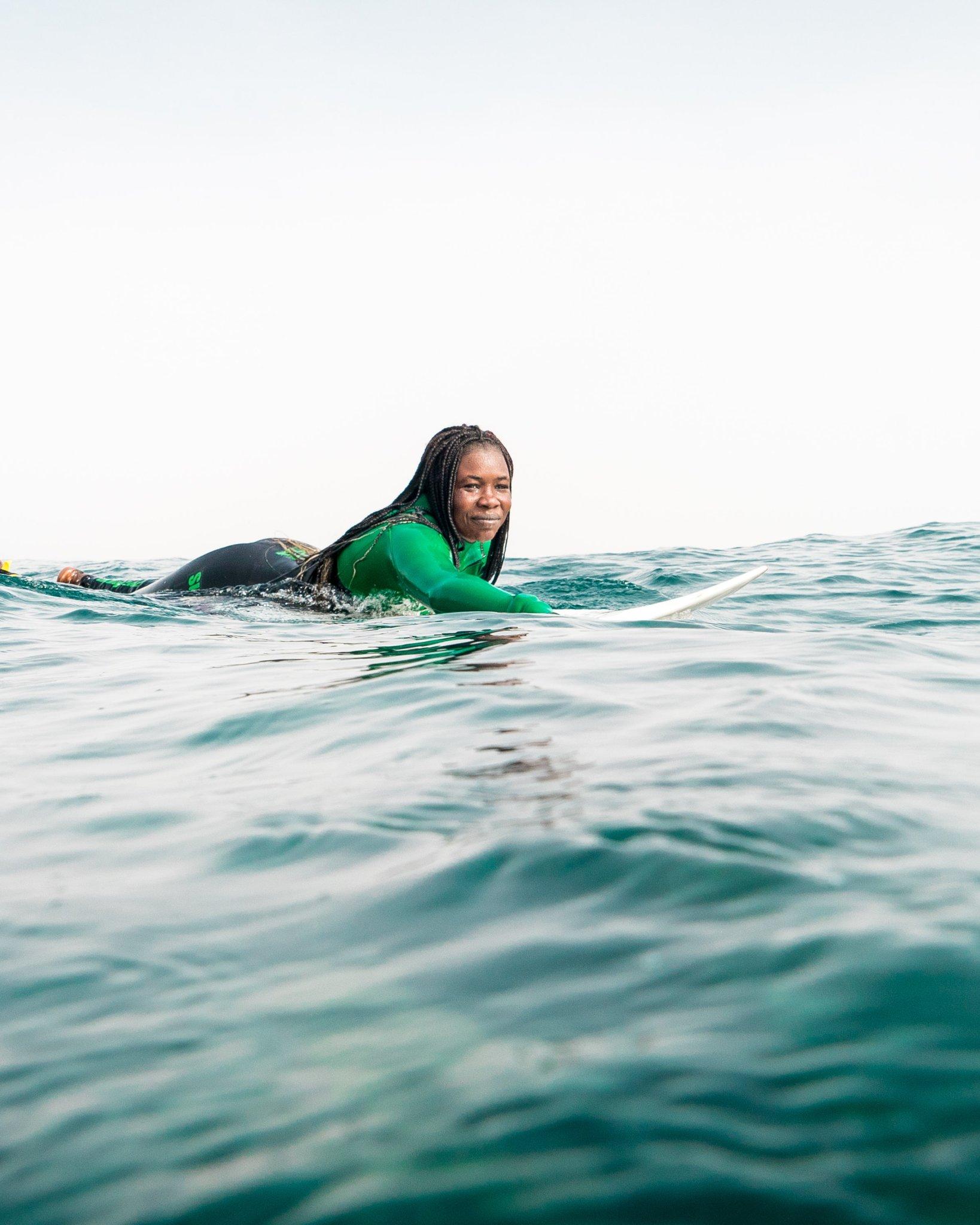 Khadjou Sambe on Becoming Senegal's First Professional Female Surfer