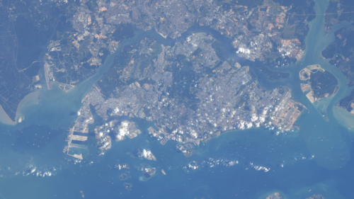 Singapore's green looks all but gone in Japanese astronaut's shout-out (Photo)
