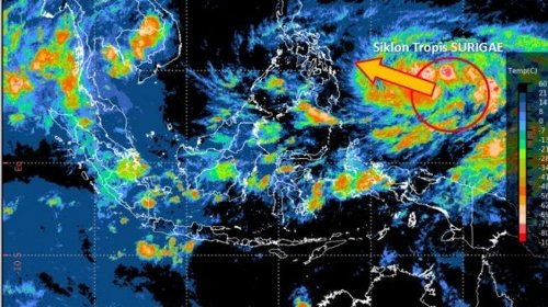 Greater Jakarta Area told to brace for extreme weather from tropical cyclone Surigae