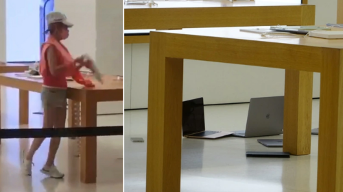 Woman smashes iPads, MacBooks at Hong Kong Apple store in fit of anger at 'poor service'