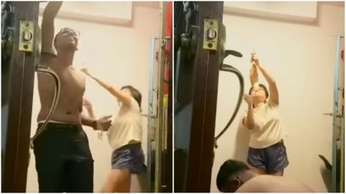 Singapore neighbor sounds off with gong during man's Hindu prayer routine (Video)