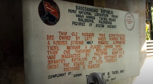 Today is the anniversary of the Palimbang Massacre, another event we must #NeverForget