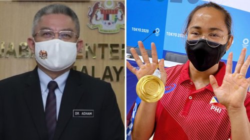 Health Minister Adham Baba says he contributed to Philippine's maiden gold