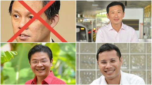 Who will be the next top pol? Singaporeans weigh in on who's hot – and who's not
