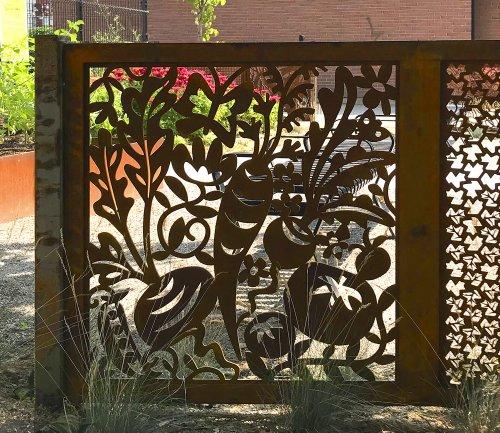 Veggie Garden — 337 Pocket Park Fence - CODAworx