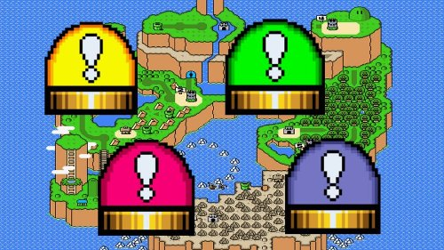 How to Release Block (Square Switch) in Super Mario World