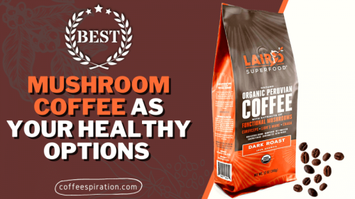 Best Mushroom Coffee As Your Healthy Options in 2021 - Coffeespiration