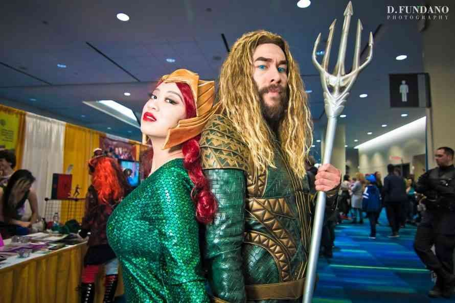 Canadian Cosplayers Making a Splash in Time For Aquaman