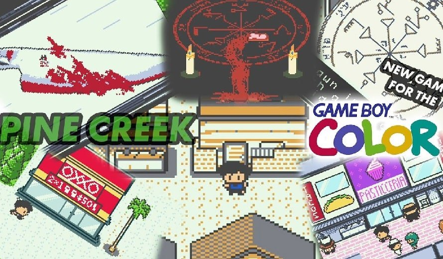 Retro Horror Game Pine Creek Can Now Be Pre-Ordered For Game Boy Color   COGconnected