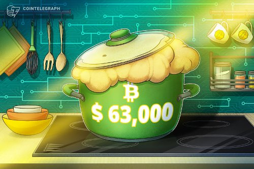 Bitcoin breaks new all-time high above $63K: What are traders saying?