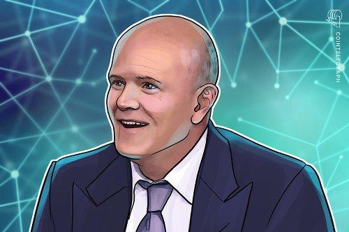 Coinbase listing is crypto's 'Netscape moment,' says Mike Novogratz