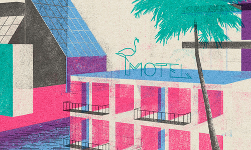 Architecture and illustration, the creations of Leonie Bos | Collater.al