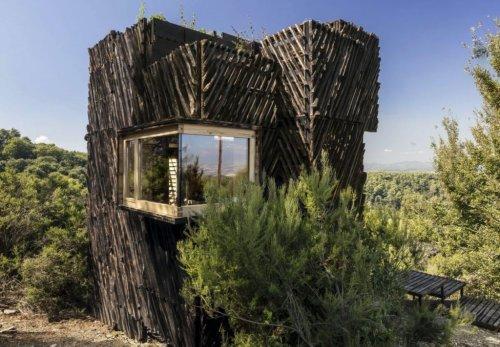 The Voxel, the perfect quarantine cabin | Collater.al