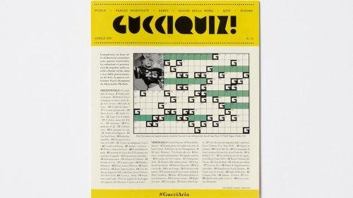 The invitation to Gucci's next show is a puzzle book | Collater.al