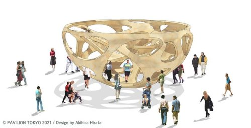 The 8 artist pavilions for the Tokyo Olympics | Collater.al