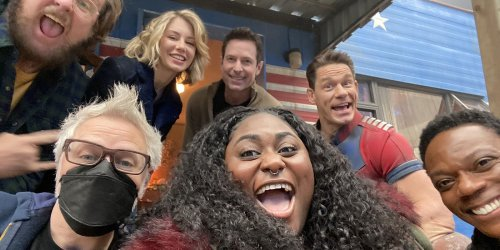 James Gunn Shares 'Peacemaker' Set Photos Revealing the Cast of the HBO Max Spinoff