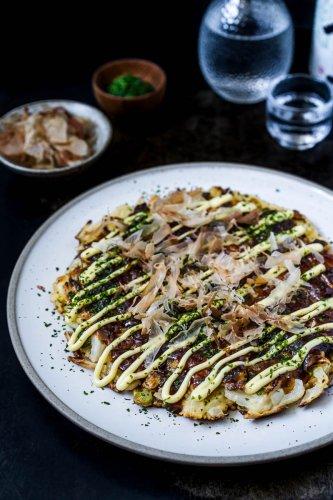 Okonomiyaki Osaka Style - Colors of Food