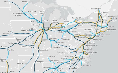 """Planners See """"Window of Opportunity"""" for Amtrak in Ohio"""