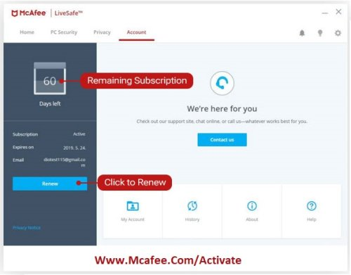 How To Renew and Verify Your McAfee Subscription? - www.mcafee.com/activate