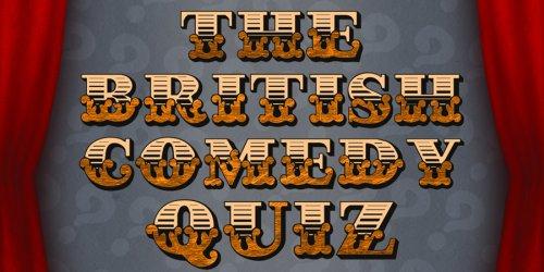 Quiz 159 - British Comedy Quiz - British Comedy Guide