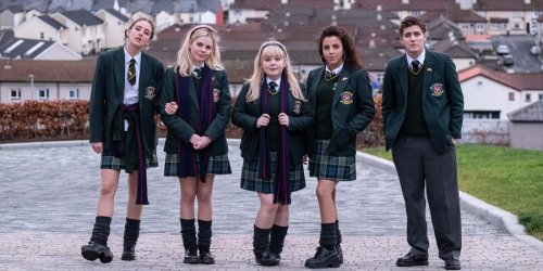 """Derry Girls stars reunite for """"Oirish"""" spoof as Channel 4 sitcom ends"""