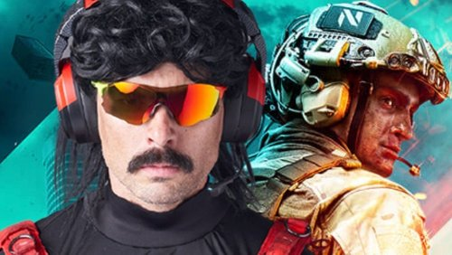 Dr Disrespect Already Has a Big Problem With Battlefield 2042