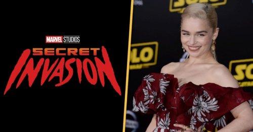 Secret Invasion Star Emilia Clarke Fears Spoiling Her Secret Marvel Role