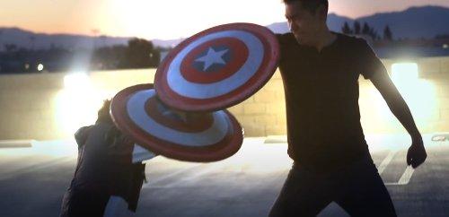 Marvel Fans Create Amazing Captain America Shield That Bounces