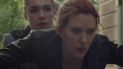 Black Widow Star Florence Pugh Celebrates One Month Until Movie's Release with Hilarious BTS Photo