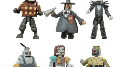 SDCC 2021 Exclusive The Nightmare Before Christmas Minimates, LOTR Figures Are up for Pre-Order