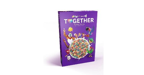 Kellogg's and GLAAD Releasing Cereal for Pride Month