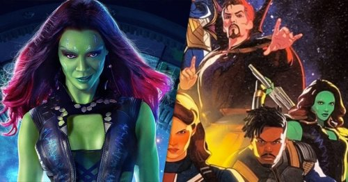 Marvel's What If...? Concept Art Turns Gamora Into the Mad Titan