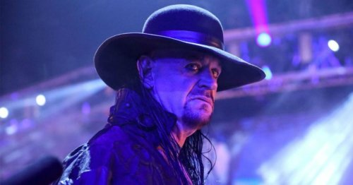 The Undertaker on Holding Back Tears During His WWE Retirement Speech