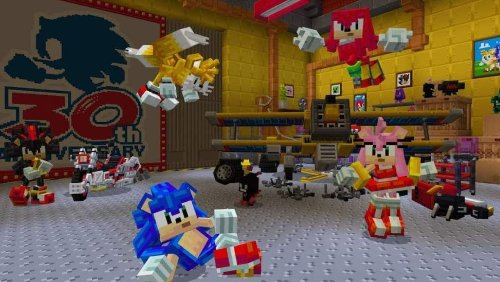 Minecraft Sonic the Hedgehog DLC Released