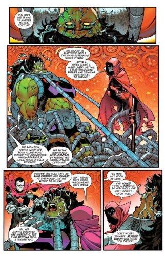 Marvel Debuts the Winter Hulk