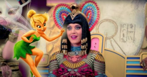 Katy Perry Reveals Tinker Bell Cosplay For American Idol's Disney Night