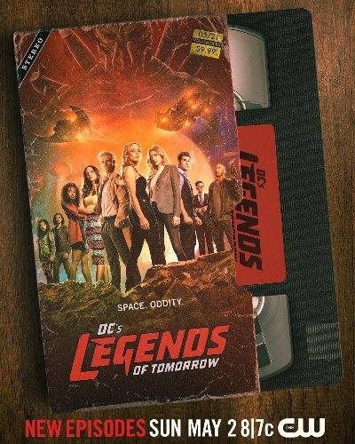 Legends of Tomorrow Comes to VHS in New Season 6 Poster