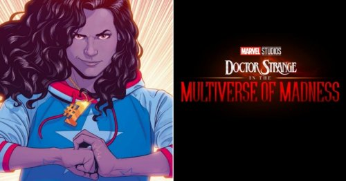 Doctor Strange in the Multiverse of Madness Reveals New Logos, Including America Chavez