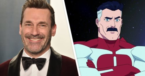 Invincible: Here's What Jon Hamm Could Look Like as Omni-Man