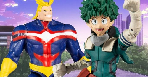 McFarlane Toys Review: My Hero Academia Goes Plus Ultra with New 2021 Collection