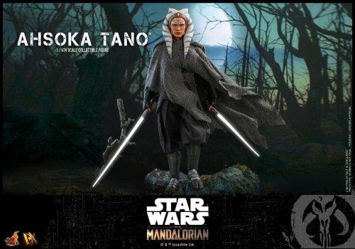 Star Wars: The Mandalorian Ahsoka Tano and Grogu Hot Toys Figure Unveiled
