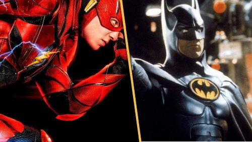 The Flash: Michael Keaton and Ezra Miller Photographed in London as Production Moves to City