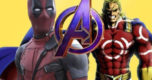 Deadpool Manga Reflects on All Might's Legacy with an Avenger Burn