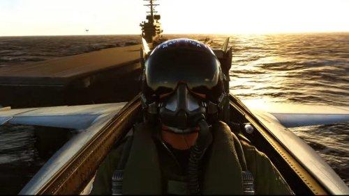 Microsoft Flight Simulator Coming to Xbox Series X S, Top Gun: Maverick Expansion Revealed
