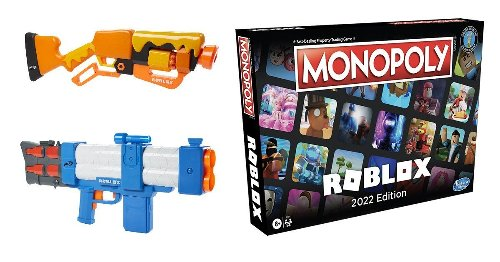 Roblox and Hasbro Partner on Nerf Blasters and a Monopoly Board Game