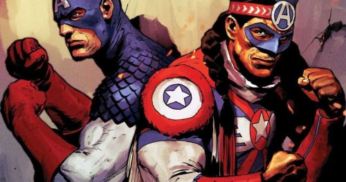Marvel Introducing New Captain America Joe Gomez From The Kickapoo Tribe