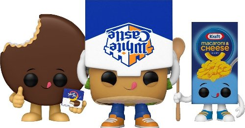 New Funko Foodies Pops Include White Castle, Mac & Cheese, Pringles and More