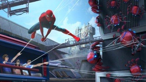 Disney Introduces Avengers Campus Spider-Bots